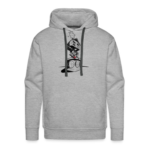 sokkel drager - Sweat-shirt à capuche Premium pour hommes
