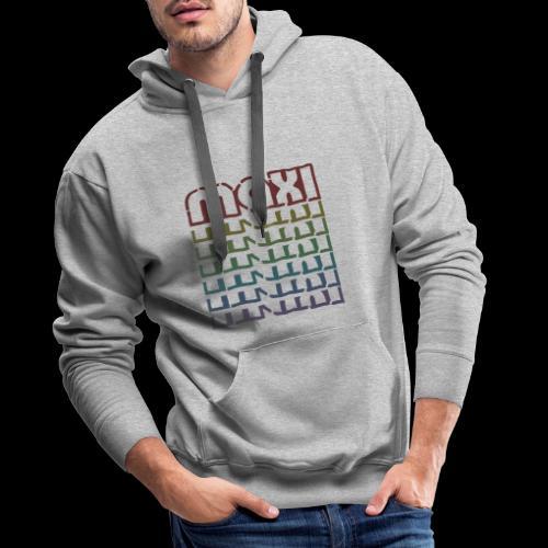 Maxi Bunt - Männer Premium Hoodie