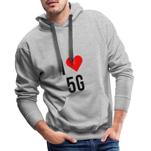 ilove5g - Männer Premium Hoodie