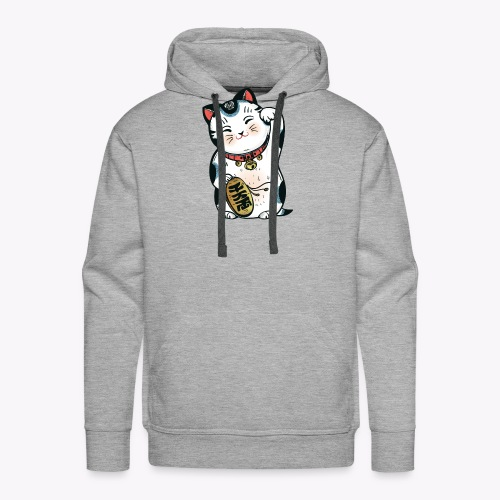 The Lucky Cat - Men's Premium Hoodie