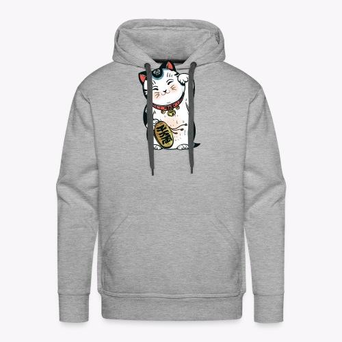 The Lucky Cat - Men's Premium Hoodie
