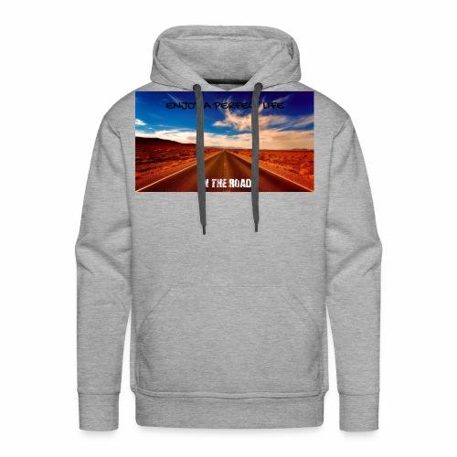 Enjoy a perfect life - On the Road - Sweat-shirt à capuche Premium pour hommes
