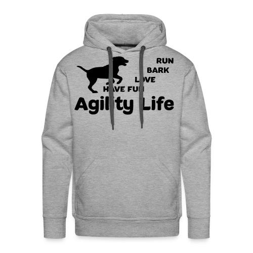 Hundesport Agility - Männer Premium Hoodie