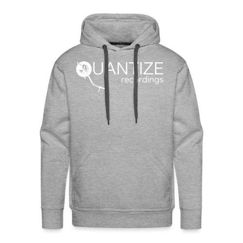 Quantize White Logo - Men's Premium Hoodie