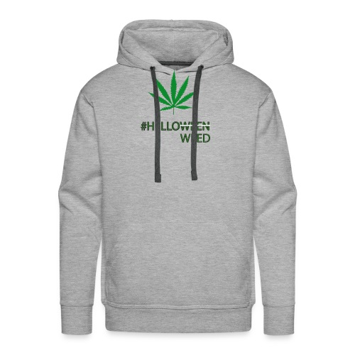 Helloween/weed Fun T-Shirt - Männer Premium Hoodie