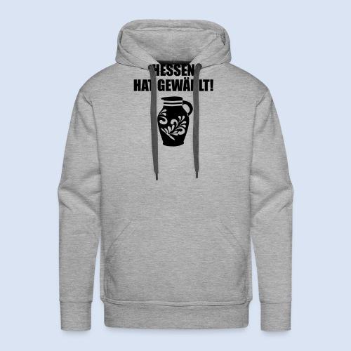 Hessenwahl Bembel - Männer Premium Hoodie