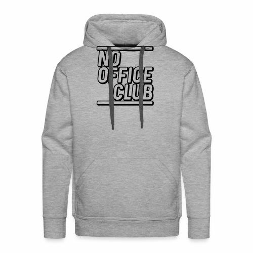 NoOfficeClubcurvy - Männer Premium Hoodie