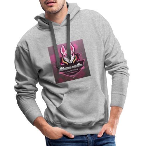 dia icon - Herre Premium hættetrøje