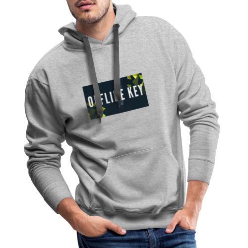 Offline Logo - Männer Premium Hoodie