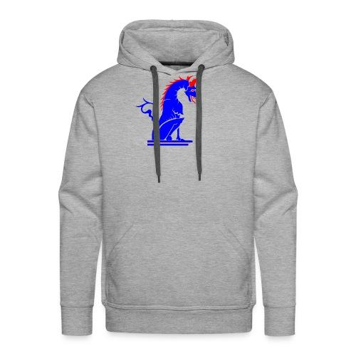 dragoviola - Felpa con cappuccio premium da uomo