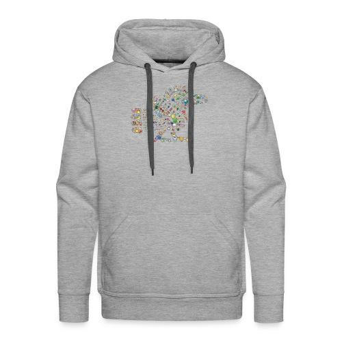 leuchtende Schwanzfederschlange - Männer Premium Hoodie