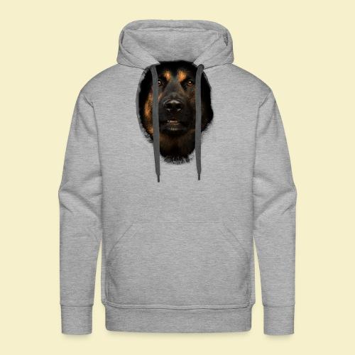 Schäferhund Portrait - Männer Premium Hoodie