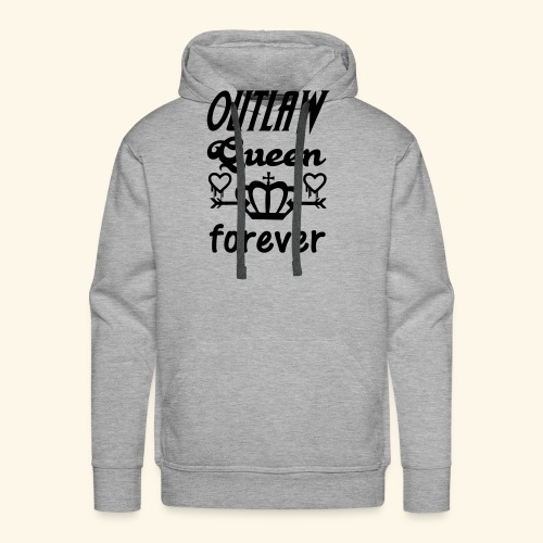 OutlawQueen Once Upon A Time Shirts - Men's Premium Hoodie