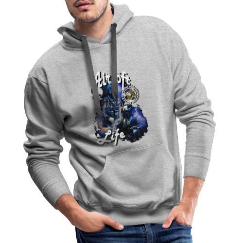 mikeairsoft - Herre Premium hættetrøje