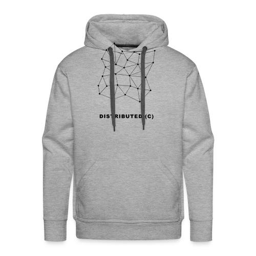 Distributed - Sweat-shirt à capuche Premium pour hommes
