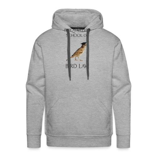 Philadelphia School of Bird Law - Men's Premium Hoodie