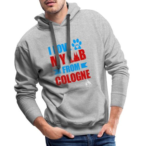 I love my LAB from COLOGNE! - Männer Premium Hoodie