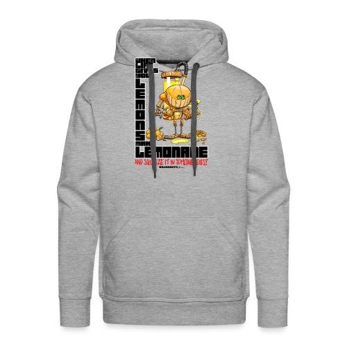 Lemonade Robot!🍋 - Herre Premium hættetrøje