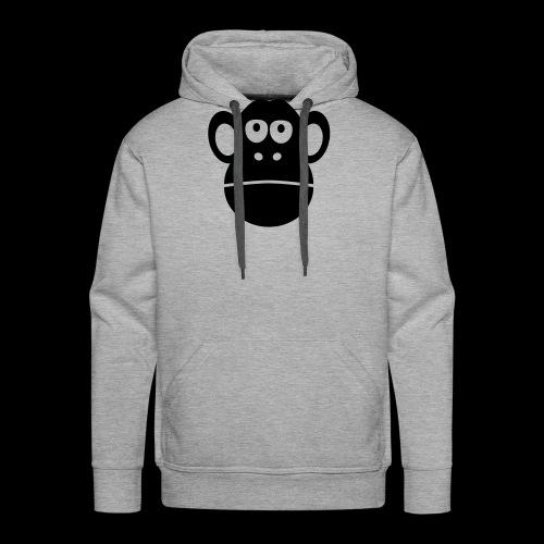 monkey ape singe - Men's Premium Hoodie