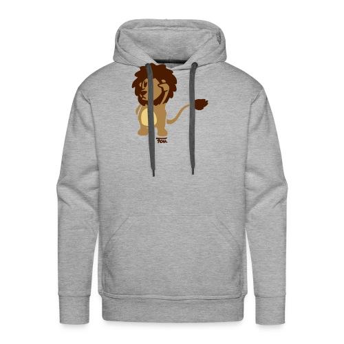 Löwe - colored - Männer Premium Hoodie