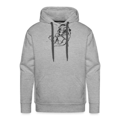 Loutre - Sweat-shirt à capuche Premium pour hommes