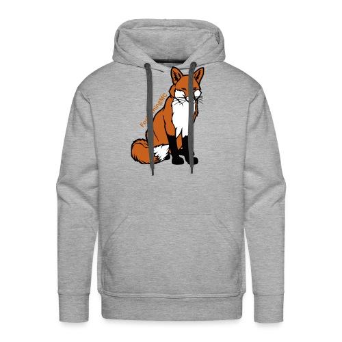 Grote Vos Mannen - Mannen Premium hoodie