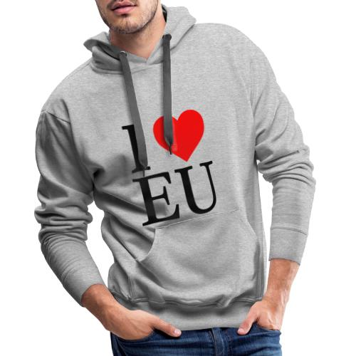 i love eu - Men's Premium Hoodie