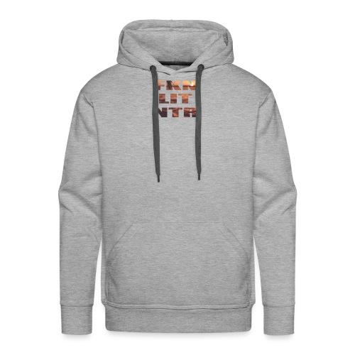 Sunset Letters - Männer Premium Hoodie