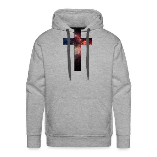 Cross Galaxy - Mannen Premium hoodie