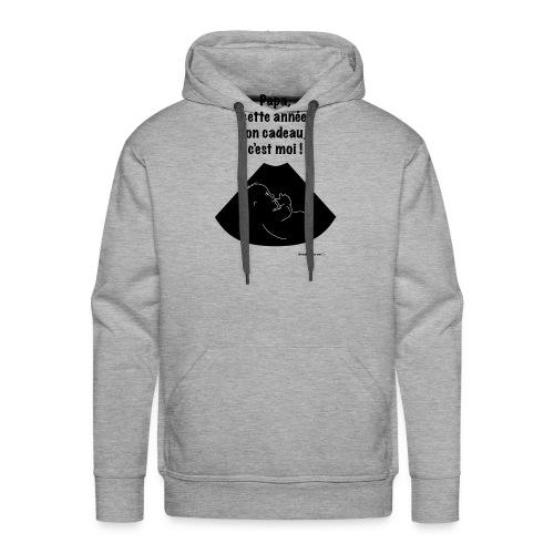 ton-cadeau,-c'est-moi.png - Sweat-shirt à capuche Premium pour hommes