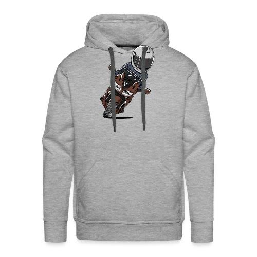 0790 FJR1300 Magnetic Bronze - Mannen Premium hoodie