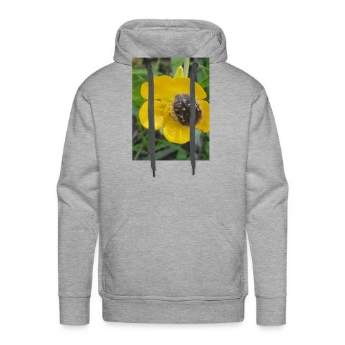 fleur - Sweat-shirt à capuche Premium pour hommes