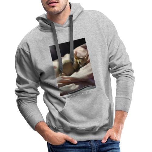 Let me alone! - Sweat-shirt à capuche Premium pour hommes