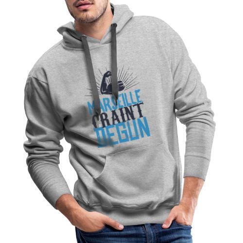 Marseille craint degun - Sweat-shirt à capuche Premium pour hommes