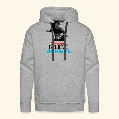 Imagine, Believe, Achieve Table Tennis Champ - Männer Premium Hoodie