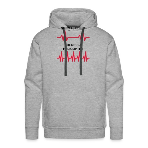 Helicopter-Pulse - Männer Premium Hoodie
