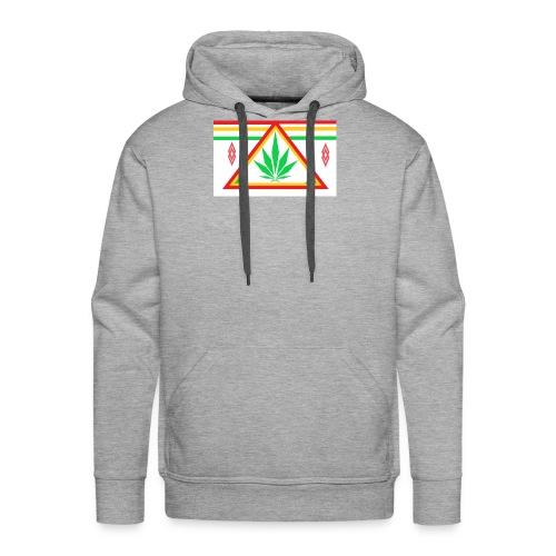 ganja power - Sweat-shirt à capuche Premium pour hommes