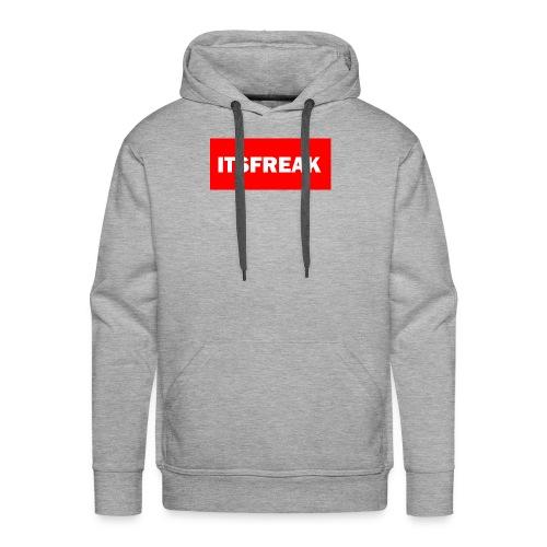 ITSFREAK RED LOGO - Männer Premium Hoodie