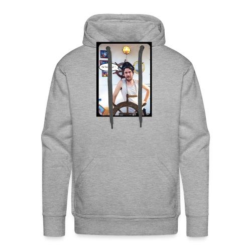 aquaquarium bonjour - Sweat-shirt à capuche Premium pour hommes