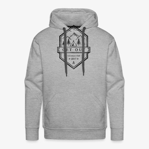 WappenBlackVintage - Männer Premium Hoodie
