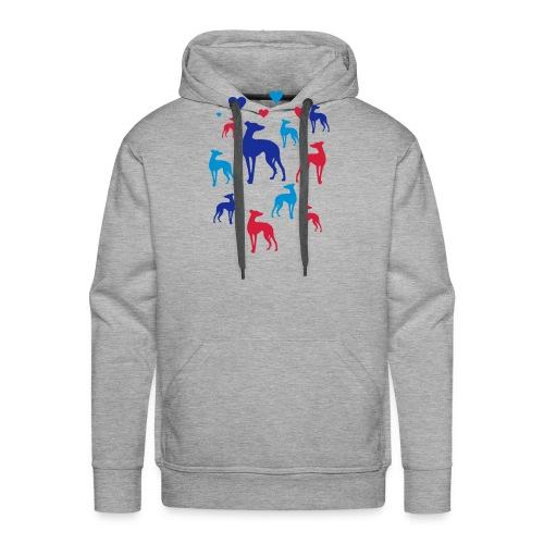 levrier love - Sweat-shirt à capuche Premium pour hommes