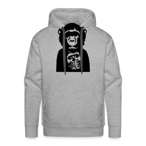 Skull/Totenkopf by Pop Chimps - Männer Premium Hoodie