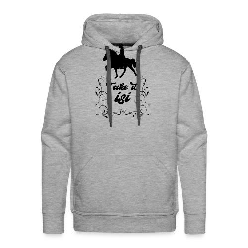 Isländer Pony Isi T-Shirt Islandpferd - Männer Premium Hoodie