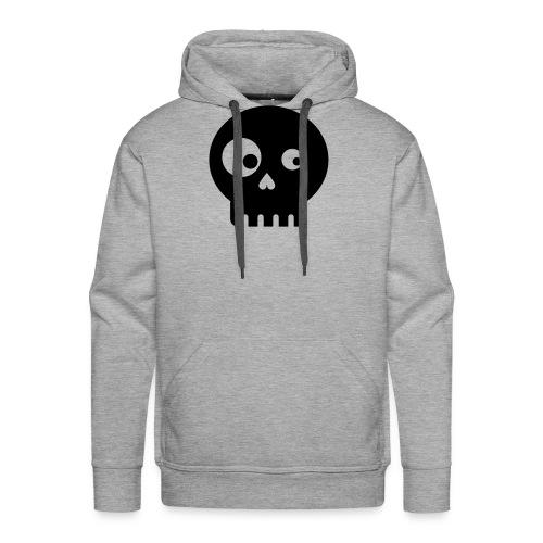Totenkopf minimalistic kids - Männer Premium Hoodie