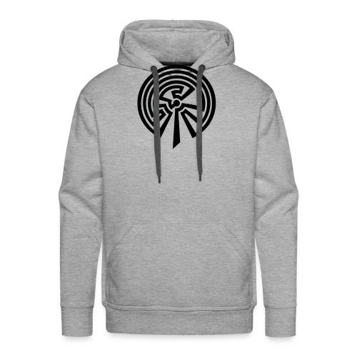 Indianisches Labyrinth - Männer Premium Hoodie