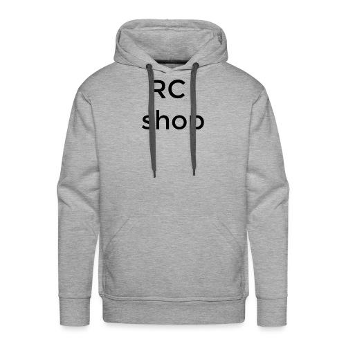 logo RCshop - Sweat-shirt à capuche Premium pour hommes