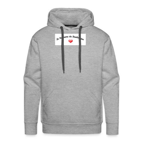royaume - Sweat-shirt à capuche Premium pour hommes
