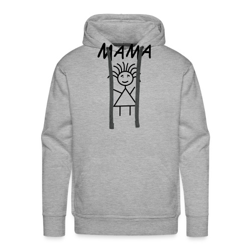 Mama by www.mamapapakind.spreadshirt.de - Männer Premium Hoodie