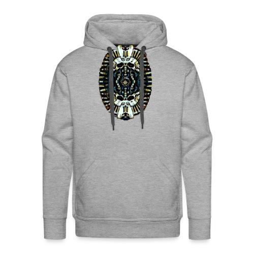 Steampunk Pharao - Männer Premium Hoodie