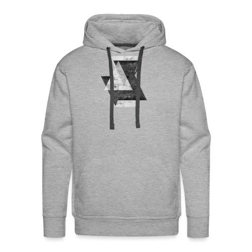 Triangles - Men's Premium Hoodie